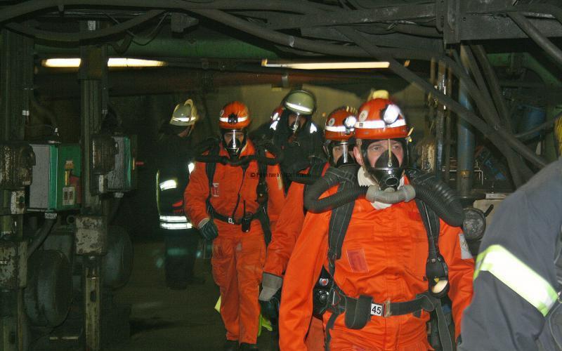 Gemeinsame Übung mit der Feuerwehr Marl Hamm